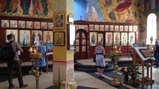 Храм Михаила Архангела в Грозном. Август 2016 г.