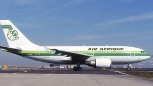 An Air Afrique Airbus