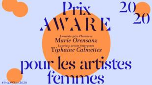 Marie Orensanz et Tiphaine Calmettes sont les lauréates 2020 du prix Aware.