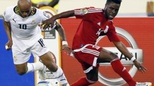 André Ayew prend le meilleur sur Enrique Boula : le Ghana a largement dominé la Guinée équatoriale.