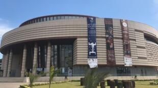 Le musée des civilisations noires, à Dakar.