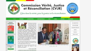 Le site de la CVJR.