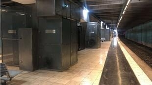 AMIDA 10000 installed at Paris Metro Station 2