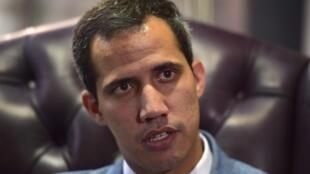 Хуан Гуайдо, «временный президент» Венесуэлы, Каракас, 08 февраля 2019