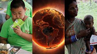 Obesidade, alimentação e mudanças climáticas: essas três variáveis representam uma ameaça para o planeta.