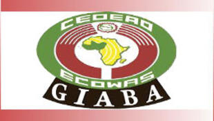 Logótipo GIABA - Grupo Intergovernamental de Acção contra o Branqueamento de Capitais e financiamento do Terrorismo na África Ocidental