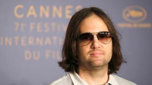 David Robert Mitchell, réalisateur du film « Under the Silver Lake » en compétition au 71e Festival de Cannes Cannes, France, 16 mai 2018.