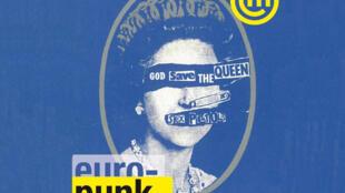Cartaz da exposição Euro-Punk, que fica até o dia 19 de janeiro na Cité de la Musique, em Paris.