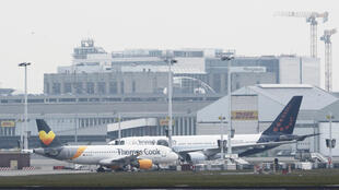 Brussels Airport, in Zaventem, after two explosions rocked the main hall of the airport