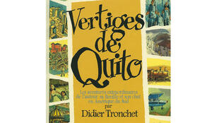 La BD «Les Vertiges de Quito», de Didier Tronchet, aux éditions Futuropolis.