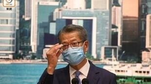 香港财政司司長陈茂波资料图片
