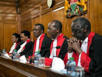 Majaji wa Mahakama Kuu ya Kenya, Nairobi, Septemba 20,  2017.