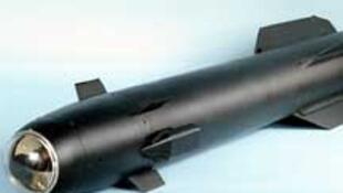 Un missile Hellfire du type de celui qui a été envoyé par erreur à Cuba.