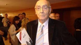 Jose Saramago at the San Sebastián International Film Festival