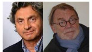 Alain Frachon et Daniel Vernet, auteurs du livre «La Chine contre l'Amérique, le duel du siècle».