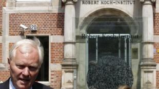Reinhard Burger, presidente do Instituto Robert Koch em Berlim, Alemanha