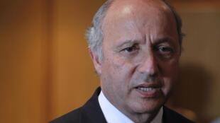 French FM Laurent Fabius