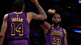 LeBron James scored 44 points during the Lakers win over the Portland Trail Blazers.