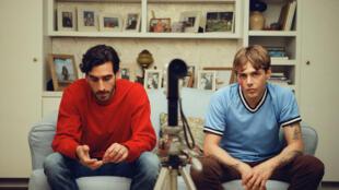Gabriel D'Almeida Freitas and Xavier Dolan in Matthias and Maxime, directed by Xavier Dolan
