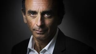 Close up and personal: the pundit Eric Zemmour.