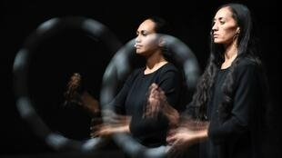 'Standing in Time' directed by Samoan-New Zealand director Lemi Ponifasio in Avignon on 6 July, 2017