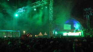 Imagem do Festival de Aquasella, na Espanha