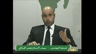 Seïf Al-Islam, eldest son of Libyan leader Kadhafi