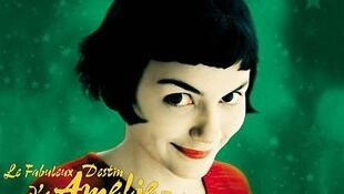 Audrey Tautou fronts for Amélie on the film's poster