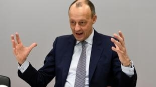 Friedrich Merz, lors d'une interview avec Reuters à Berlin, le 14 janvier 2020.