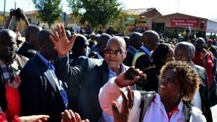 Jacob Zuma, le 14 juin 2013 à Soweto.