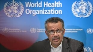 Le coronavirus, désormais appelé Covid-19 par l'OMS a été désigné «ennemi public numéro un», par le directeur général Tedros Adhanom Ghebreyesus, à Genève, le 11 février 2020.