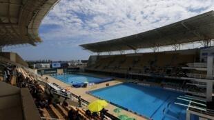 Centro Aquático Maria Lenk, um dos locais de provas da Rio 2016.