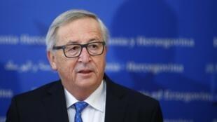 Ảnh minh họa : Chủ tịch Ủy Ban Châu Âu Jean-Claude Juncker cảnh báo châu Âu sẽ 'trả đũa' các biện pháp của tổng thống Mỹ Donald Trump.