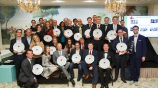Os laureados com o troféu Villgiature Awards 2016