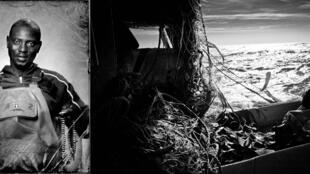 Salif, 34 ans matelot, travaille sur le Souvenir, un fileyeur de 15 mètres en baie d'Arcachon