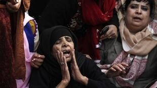 Supportes of Punjab governor Salman Taseer, murdered in January for opposing blasphemy laws