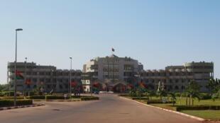 Le palais Kossyam, résidence du président du Burkina Faso, à Ouagadougou.
