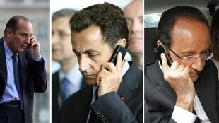 Wikileaks reveal at least three French presidents' phones were tapped