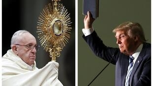 O Papa Francisco e o pré-candidato republicano Donald Trump trocaram farpas nesta quinta-feira (18).