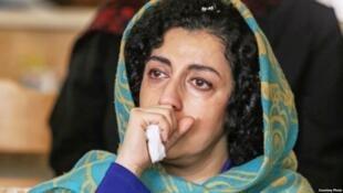 نرگس محمدی، نایب رییس کانون مدافعان حقوق بشر ایران