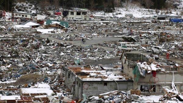 日本地震海嘯災區