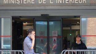 Полицейское отделение в пригороде Парижа