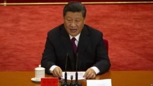 中国国家主席习近平在纪念五四运动100周年大会上发表讲话
