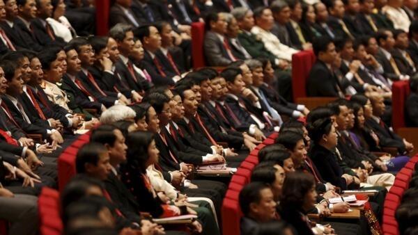 Les membres du comité central du Parti communiste vietnamien (image d'illustration)