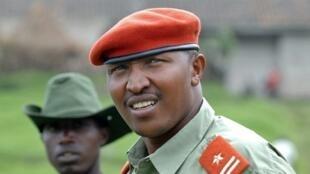 Le général Bosco Ntaganda, en janvier 2009.