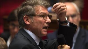 France's Education minister Vincent Peillon