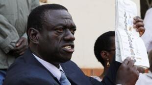 Ugandan opposition leader Kizza Besigye.
