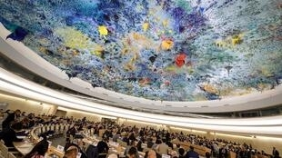 Phiên họp Hội Đồng Nhân Quyền Liên Hiệp Quốc ngày 05/11/2018 tại Genève, Thụy Sĩ.