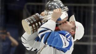 Нападающий сборной Финляндии Ере Саллинен