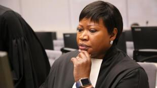 Fatou Bensouda, Prosecutor of the International Criminal Court, 28 January 2016.